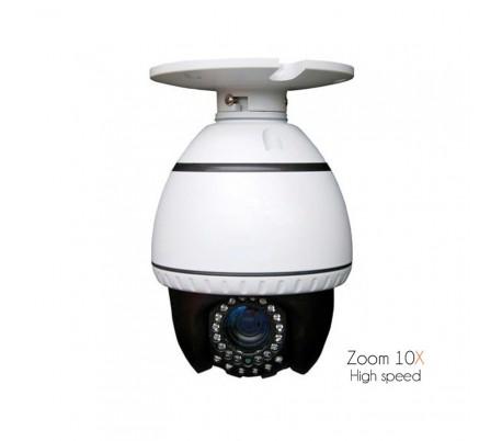 Caméra motorisée High Speed avec infrarouge et focale 5.5 à 55mm