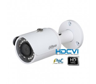 Caméra extérieure HDCVI 2MP focale 2,8mm avec système PoC