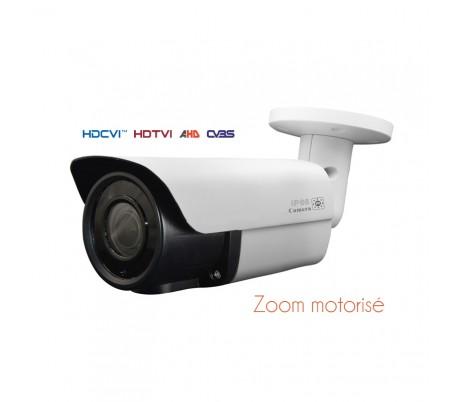 Caméra de surveillance HDCVI 1080P zoom motorisé 2.8-12mm