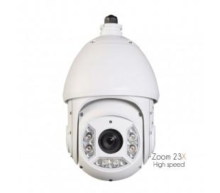 Caméra extérieure motorisée avec soom 23X et vision de nuit 100 mètres