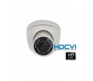 Mini caméra dôme HDCVI 1080P objectif fixe 2.8 infrarouge 10 mètres