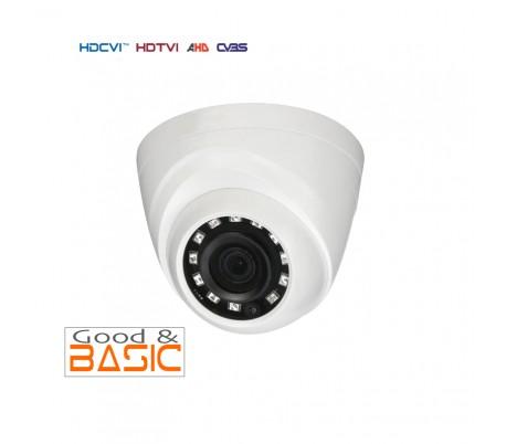 Caméra dôme HDCVI 720P 2.8mm Infrarouge 20m