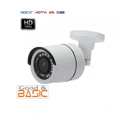 Caméra extérieure 2,8 mm HDCVI  2MP 1080P infrarouge 20m