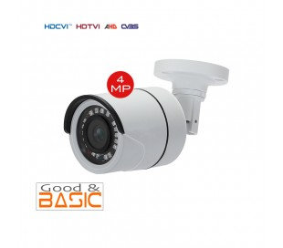 Caméra extérieure 2,8 mm HDCVI  4MP infrarouge 25m