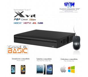 Xvr économique 16 canaux 720P + 2 canaux IP