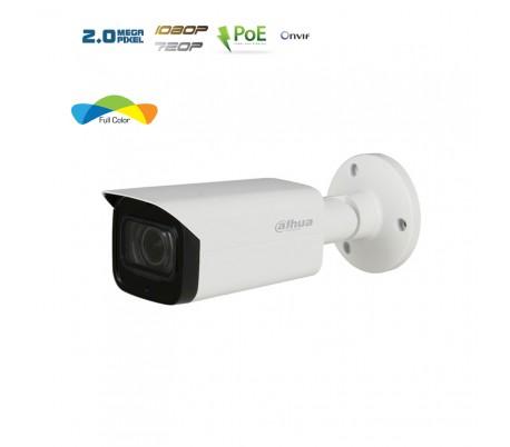 """Caméra IP avec vision couleur la nuit """"Full Color"""" - 2MP"""