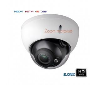 Caméra dôme de surveillance HDCVI zoom motorisé 2.8-12mm
