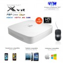 XVR 4 canaux 4MP et full 1080P + 2 canaux IP 8MP
