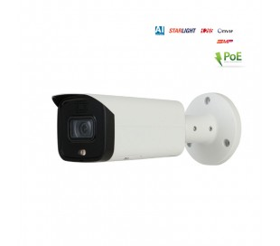 Caméra IP 5MP avec sirène et flash lumineux - IR 60m