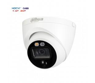 Caméra avec vision nuit et dissuasion lumineuse 5MP