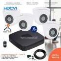 Kit de 4 caméras de surveillance 1080P infrarouges