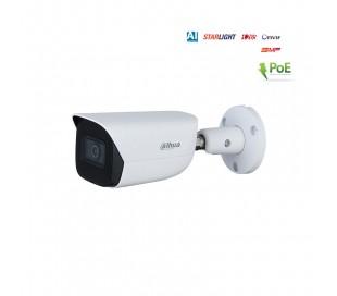Caméra IP 5MP extérieure, IR 50m,  2.8mm, PoE