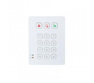 Clavier sans fil avec lecteur de badges RFID