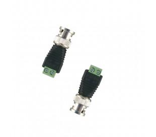 Connecteur BNC mâle - 1 paire