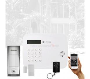 Alarme maison autonome sans fil 4G autonome sur piles Vesta by Climax