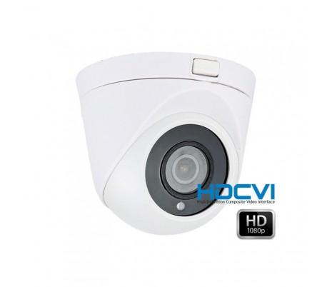 Caméra dôme HDCVI 1080P 2.8mm grand angle IR 20 mètres