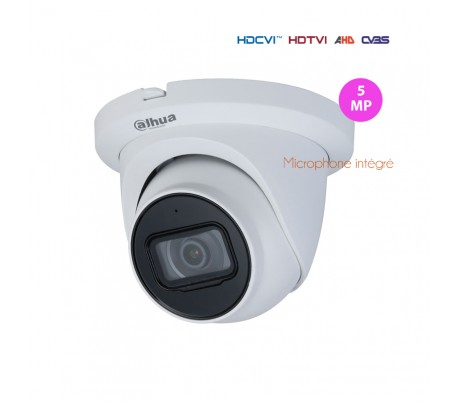 Caméra de surveillance HDCVI 4MP IR 30m extérieure