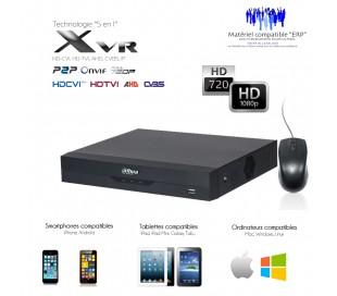 Enregistreur vidéo surveillance économique 4 canaux + 1 canal IP