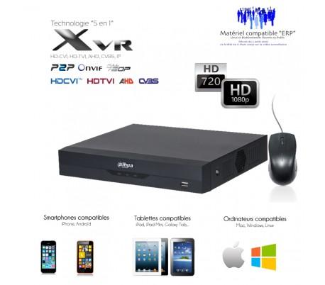 Xvr économique 4 canaux + 1 canal IP