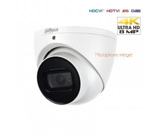 Caméra de surveillance dôme 8MP / 4K