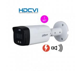Caméra de surveillance avec leds actives et sirène, 2MP