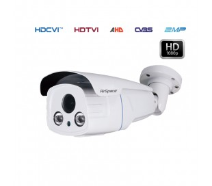 Caméra de surveillance infrarouge 60m, varifocale 2.7-13.5mm