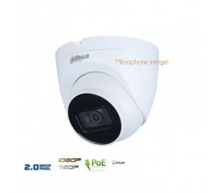 Caméra de surveillance IP 2MP focale 2,8mm IR 30 mètres