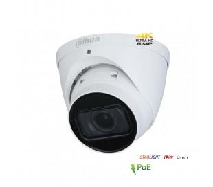 Caméra de surveillance IP 8MP zoom 2.7-13.5mm infrarouge 40 mètres