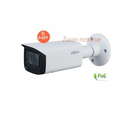 caméra de surveillance IP 5MP zoom motorisé IR 60m
