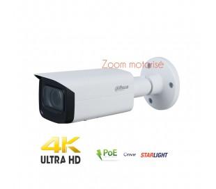 Caméra IP de vidéo surveillance 8MP zoom motorisé