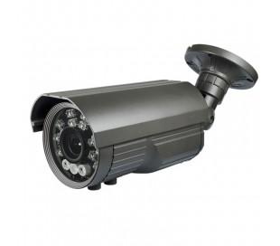 Caméra extérieure varifocale 5-50 mm, SONY DSP-Effio, IR 100 mètres