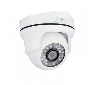 Caméra de surveillance dôme antivandale 1000 lignes 2,8mm, IR 25m