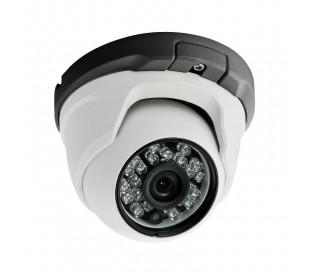 Caméra dôme capteur 1000 lignes à 1.3 Megapixel, IR 20m, menu OSD