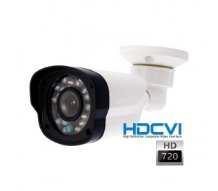 Caméra de surveillance HDCVI 720P extérieure, IR 20m 3,6mm
