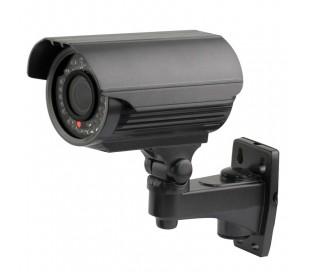 Caméra extérieure 1000 lignes, varifocale 2,8-12mm, vision nocturne 40 mètres
