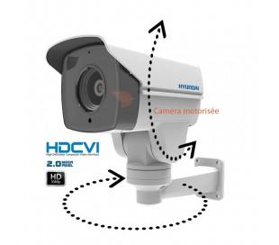Caméra de surveillance motorisée, zoom 5.1 à 51mm