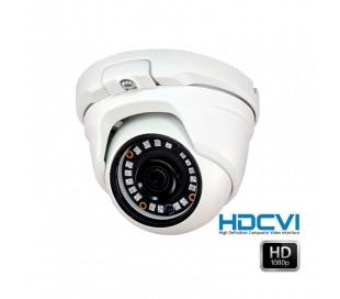 Caméra dôme HDCVI 1080P 2,4 MP en 2.8 mm infrarouge 20 mètres