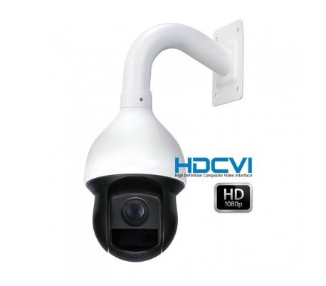 Dôme motorisé HDCVI 1080P avec zoom 12x de 5,1 à 62,5mm