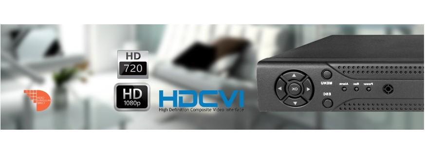 Enregistreur HD-CVI 8 canaux