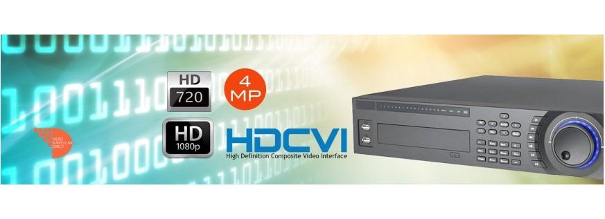 Enregistreurs HD-CVI 16 canaux et plus