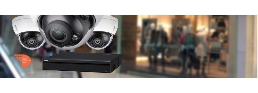 Kits de vidéo surveillance Haute Définition HDCVI