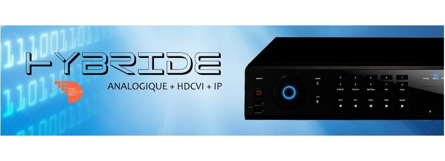 Les enregistreurs hybrides (analogiques, HD et IP)