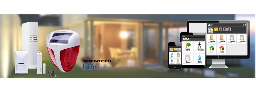 Les alarmes sans fil IP et GSM